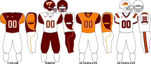 2008 Virginia Tech Hokies football team - Image: ACC Uniform VT 2008