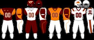 2008 Virginia Tech Hokies football team - Image: ACC Uniform VT 2008