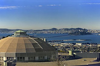 Advanced Light Source - The Advanced Light Source is perched on a hill overlooking the San Francisco Bay.