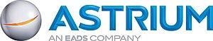 Astrium - Image: ASTRIUM EADS Company Logo 3D Blue Strap