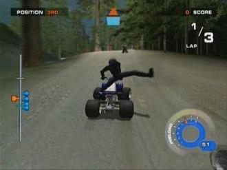 ATV: Quad Power Racing 2 - General gameplay
