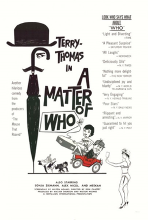 A Matter of WHO - Image: A Matter of WHO