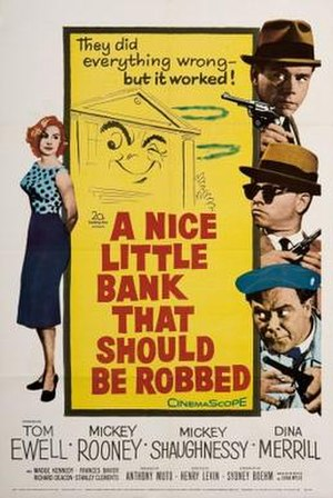 A Nice Little Bank That Should Be Robbed - Theatrical release poster