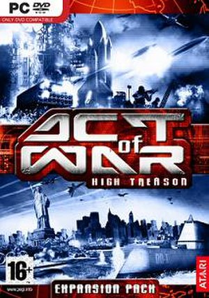 Act of War: High Treason - Image: Actof War High Treason(PC)
