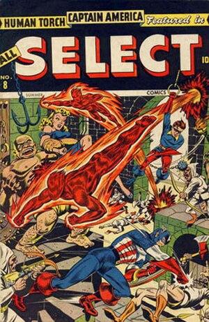 All Select Comics - Image: All Select Comics number 8