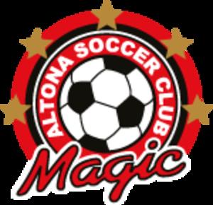 Altona Magic SC - Image: Altona Magic Logo