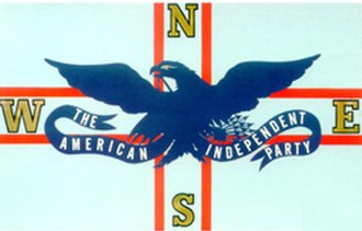 American Independent Party - Image: American Independent Party flag