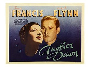 Another Dawn (1937 film) - Lobby Card