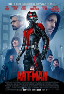 <i>Ant-Man</i> (film) 2015 superhero film produced by Marvel Studios