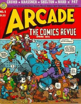 Arcade (comics magazine) - Image: Arcade 01