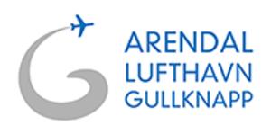 Arendal Airport, Gullknapp - Image: Arendal Airport, Gullknapp logo