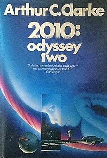 <i>2010: Odyssey Two</i> 1982 science fiction novel by Arthur C. Clarke