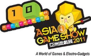 Asia Game Show - Image: Asia Game Show 2011 Logo