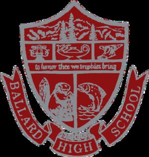 Ballard High School (Seattle, Washington) - Image: Ballard HS Seal