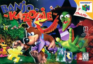 Banjo-Kazooie - Image: Banjo Kazooie Cover