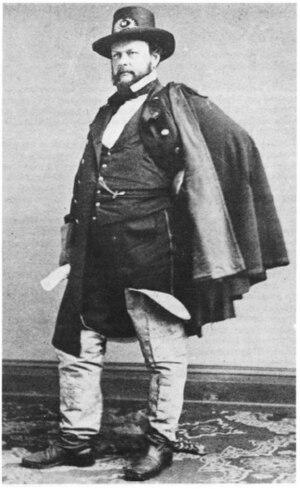 Barton S. Alexander - Brevet Brigadier General Barton S. Alexander, photograph date unknown