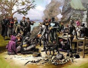 Batman Eternal - Image: Batsgiving