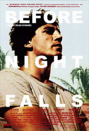 Before Night Falls (film) - Theatrical release poster