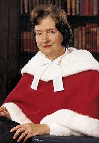 Bertha Wilson - Image: Bertha Wilson