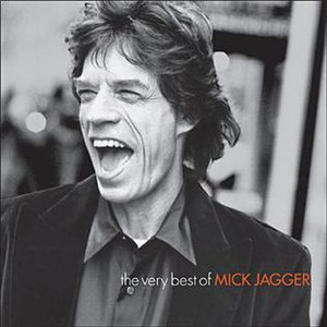 The Very Best of Mick Jagger album cover