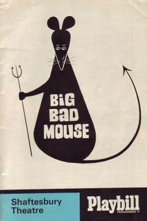 Big Bad Mouse - Original 1967 London programme cover