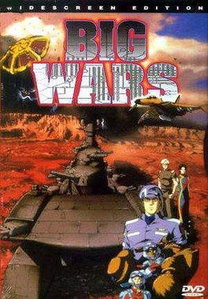 Big Wars - North American DVD Cover of Big Wars