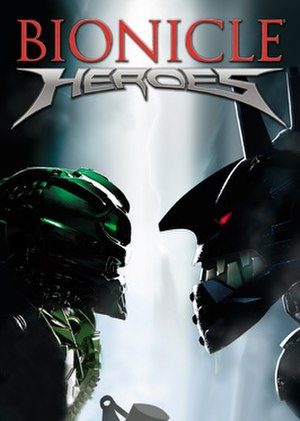 Bionicle Heroes - PAL Wii cover art