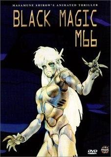 <i>Black Magic</i> (manga) cyberpunk manga