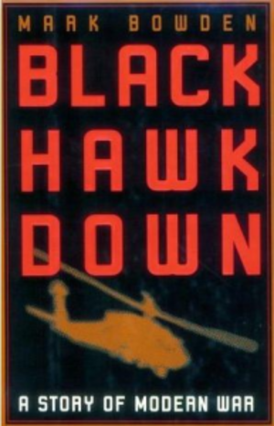 Black Hawk Down (book) - First-edition cover