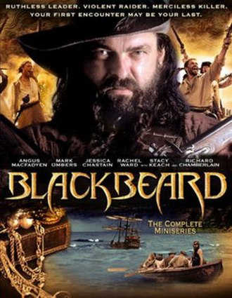 Blackbeard (2006 film) - DVD cover art