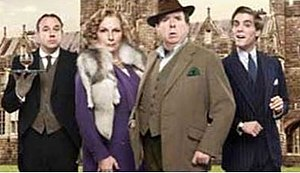 Blandings (TV series) - Second series cast: Tim Vine, Jennifer Saunders, Timothy Spall, Jack Farthing.
