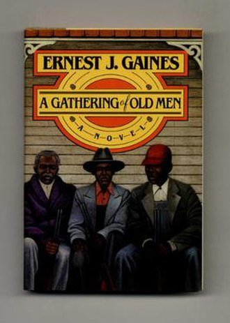 A Gathering of Old Men - 1st edition hardcover copy of the book from 1983