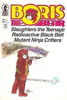 <i>Boris the Bear</i> American comic character