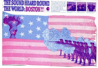 Bosstown Sound - The advertisement that opened the Bosstown Sound marketing campaign.