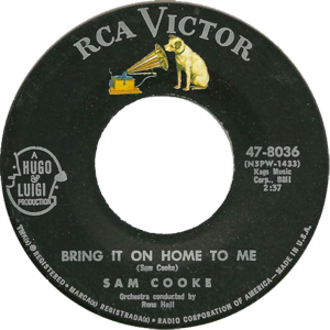 Bring It on Home to Me - Image: Bring it On Home Cooke