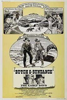 <i>Butch and Sundance: The Early Days</i> 1979 Western film directed by Richard Lester