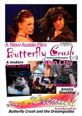 Butterfly Crush - Theatrical release poster