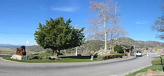 Bear Valley Springs, California - Entrance gate to Bear Valley Springs