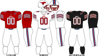 2010 SMU Mustangs football team - Image: C USA Uniform SMU 2010