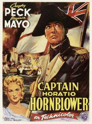 Captain Horatio Hornblower - Theatrical release poster