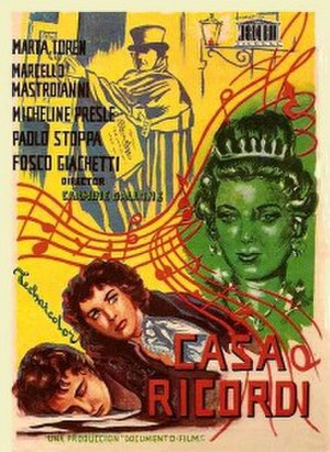House of Ricordi - Film poster