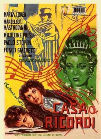 House of Ricordi - Film poster