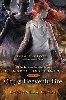 <i>City of Heavenly Fire</i> book by Cassandra Clare