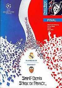 CHAMPIONS LEAGUE 2000 WINNER