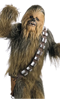 Chewbacca Fictional character in the Star Wars franchise