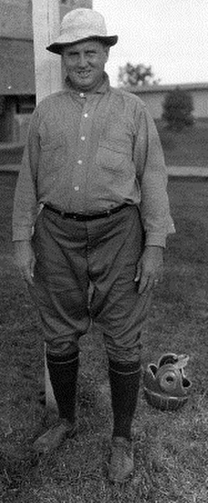 Clement J. McNaspy - Clement J. McNaspy, from 1922 Southwestern Louisiana Institute Photographs collection