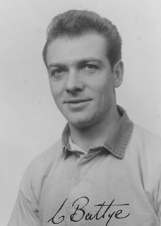 Colin Battye English rugby league footballer