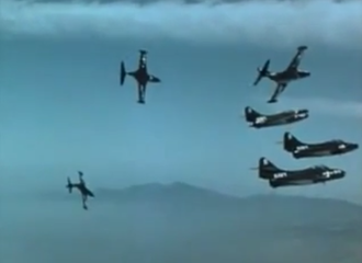 Men of the Fighting Lady - The use of color footage from actual combat operations gave Men of the Fighting Lady an air of authenticity.