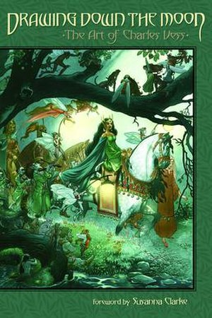 Charles Vess - Drawing Down the Moon: The Art of Charles Vess (2011). Cover art by Vess.
