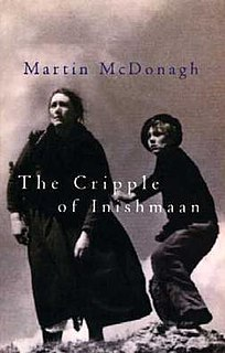 <i>The Cripple of Inishmaan</i> play written of Martin McDonagh